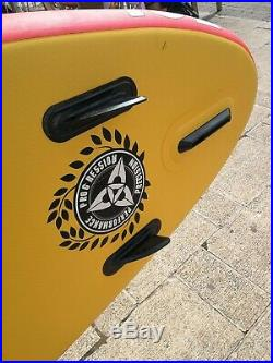 10'2 O'Shea Inflatable Stand Up Paddle board USED ISUP