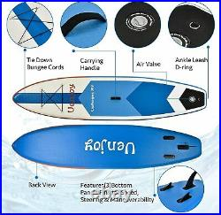 10'30x6 Inflatable Sup All Around Paddle Board, With Full Accessories, Blue