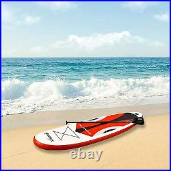 10'30x6 Inflatable Sup All Around Paddle Board, With Full Accessories, Orange