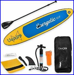 10'30x6 Inflatable Sup All Around Paddle Board, With Full Accessories, Yellow