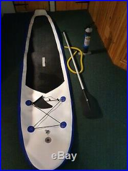 10.5 ft Inflatable Paddle Board with Pump, Paddle / SUP