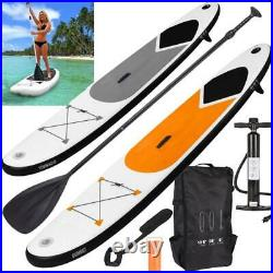 10.5FT Inflatable SUP Stand Up Paddle Board Surfing surf Board paddleboard fin