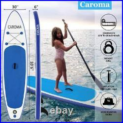 10.5FT Inflatable Stand Up Paddle SUP Board Surfing surf Board paddleboard kayak