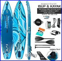 10'6 & 12'6 iSUP Inflatable Stand up Paddle Board Kayak SUP Seat Accessories