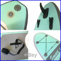 10' 8'' 330cm INFLATABLE SUP STAND UP PADDLE BOARD in bag with all accessories