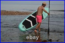 10' Inflatable Paddle Board SUP with backpack and accessories. UK Stock