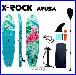 106 X-rock Aruba Sup Inflatable Stand Up Paddle Board. Brand New, Full Set