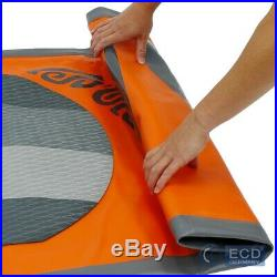 10FT 5 Inflatable stand up paddle Makani surfing board SUP paddleboard orange
