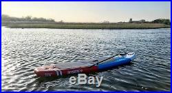 10FT 6 SUP Inflatable Surfing Board Soft Surf Stand Up Paddle Board 320X81X13 CM