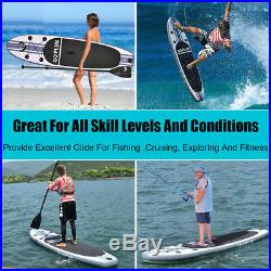 10FT ISUP SUP Stand Up Inflatable Paddle Surfing Board Surf Board 305x76x15CM