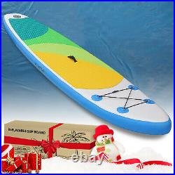 10FT Inflatable SUP Stand Up Surf Board Aufblasba Paddleboard Surfing Kayak UK