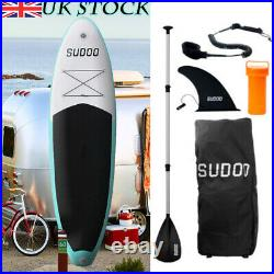 10FT Inflatable SUP Stand Up Surf Board Paddleboard Aufblasba Surfing UK Kayak