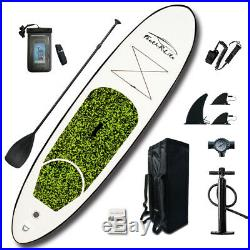 10FT Inflatable Stand Up Paddle Board SUP Surfing surf Board paddleboard kayak