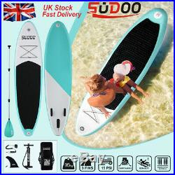 10FT Inflatable Stand Up Paddle Board SUP Surfing surf Board paddleboard kayak T