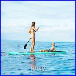 10FT Inflatable Stand Up Paddle SUP Board Surfing surf Board paddleboard kayak
