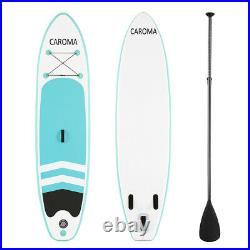 10FT Inflatable Stand Up SUP Paddle Board Surfboard Surfing ISUP Water PVC Kayak