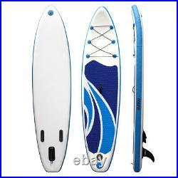10FT Inflatable Stand Up SUP Paddle Board Surfing Surfboard Paddling Float Kayak