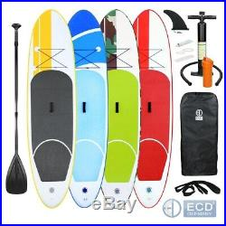 10FT SUP inflatable stand up surfing board soft surf paddle board at choice