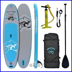 10ft 6 Australian Inflatable Stand Up Paddle SUP Board, Quality Pump, Bag