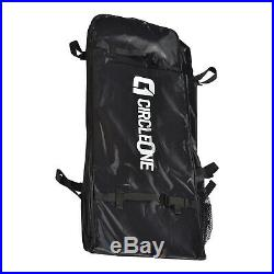 10ft 6 Circle One Inflatable Stand Up Paddle SUP Board, Quality Pump, Bag