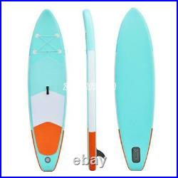 10ft 6'' Inflatable SUP Surfboard Stand Up Paddle Board Surfboard Float Full Set