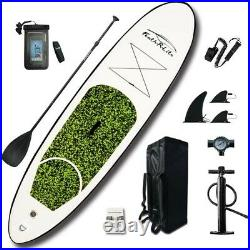 10ft Funwater feather-R-Lite Inflatable Stand Up Paddle Board Package