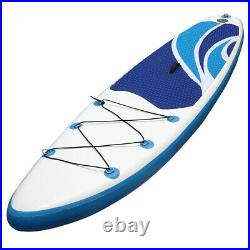 10ft Inflatable SUP Paddle Board Stand Up Surfing Surfboard Paddling Kayak Surf