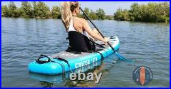 10ft Long Inflatable Stand Up Paddle Board Set FunWater With Seat 100% Original