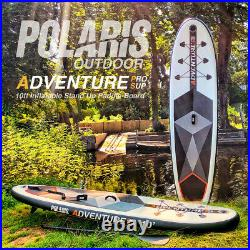 10ft Paddle Board Inflatable Stand Up Paddle Board POLARIS ADVENTURE PRO SUP