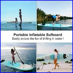 10ft SUP Inflatable Stand Up Paddle Board Kayak Premium Surfboard ISUP Biard NEW