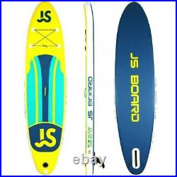11 ft Inflatable JS Stand Up Paddle Board complete with paddle, pump and bag