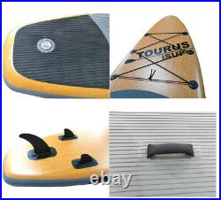 11 ft Inflatable Stand Up Paddle Board complete with paddle, pump and bag