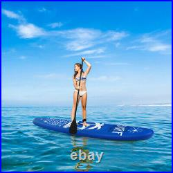11FT 335CM Inflatable SUP Stand Up Paddle Board Sports Surf Water Racing Pump