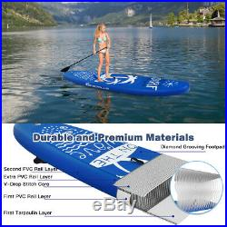 11ft/335cm Inflatable SUP Stand Up Paddle Board Beginner with Accessories