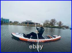 11ft IntelRoll Infinity Paddle Board Inflatable Stand Up Surfboard Convertible