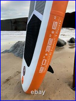 12' (3.65m) long Njordair Inflatable Stand Up Paddle Board Fast Delivery