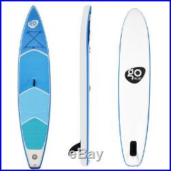 12.5FT 381CM Inflatable Sports Surfing Board Stand Up Paddle Non-Slip W Pump