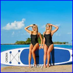 12.6ft Inflatable Stand Up Paddle SUP Board Surfing surf Board paddleboard kayak