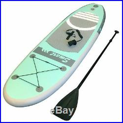 12ft 365cm INFLATABLE SUP STAND UP PADDLE BOARD in bag with all accessories