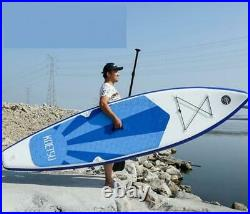 16FT Inflatable SUP Stand Up Paddle Board & Accessories Float Paddle Pump Set UK