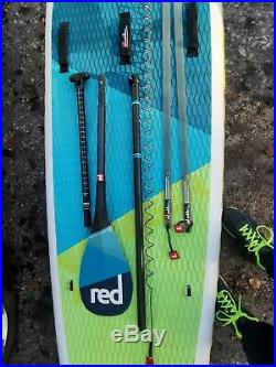 2019 Red Paddle Co Voyager 12'6 Inflatable Stand Up Paddle Board package