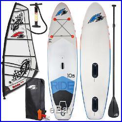 2020 F2 Ride Windsurf Inflatable Sup Set 11,5 Komplett + F2 Ride Rigg 5,5 Qm