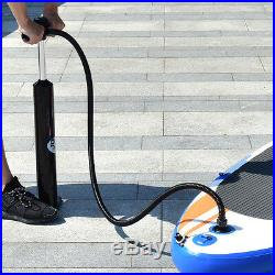 297x76x15CM ISUP Inflatable Surfing Board Soft Surf Stand Up Paddle Board Pump