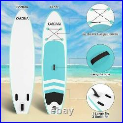 305m SUP Paddle Inflatable Board Stand Up Paddleboard Kayak ISUP Surfing Board