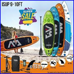 9-10FT Inflatable SUP Paddle Board Stand Up Paddleboard w Accessories 4 Models