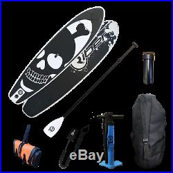 9.5ft iSUP Inflatable Stand Up Paddle Board ULTIMATE Jolly Roger- RRP £324