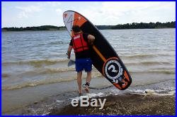 9.5ft iSUP Inflatable Stand Up Paddle Board with Accessories Orange Riber