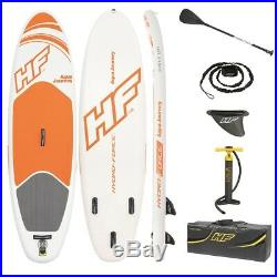 9ft SUP Inflatable Paddle board Stand Up Paddle Board Bag 6 Deck Hydro Force