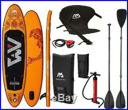 AQUA MARINA Fusion Sup Board Stand Up Paddle Inflatable Kayak Seat 2in1 Paddle