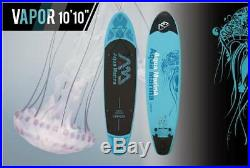 AQUA MARINA VAPOR SUP inflatable Stand Up Paddle Surfboard Board+Paddel